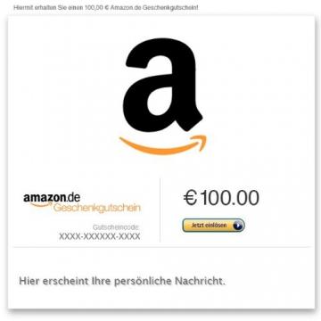 Amazon.de Gutschein per E-Mail (A wie Amazon) -