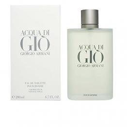 Giorgio Armani Acqua di Gio Homme, Eau de Toilette, 1er Pack (1 x 200 ml) -