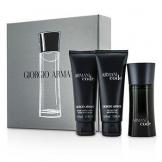 Giorgio Armani code Pour Homme Set 50ml EDT Eau de Toilette Spray + 75 ml Duschgel + 75ml After-Shave Balm -