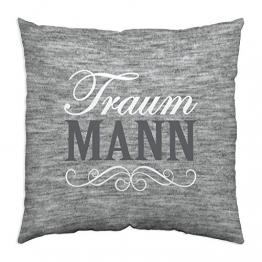 Gruss 44334 Baumwollkissen Traum Mann -
