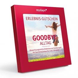 mydays Magic Box: Goodbye Alltag - Erlebnisgutschein - das perfekte Geschenk für ein außergewöhnliches Erlebnis -