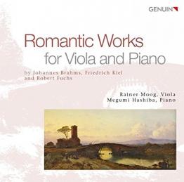 Romatische Werke für Bratsche und Klavier -