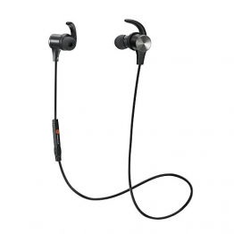 TaoTronics Bluetooth Kopfhörer Bluetooth 4.1 Kopfhörer Stereo In Ear Ohrhörer mit Mikrofon, magnetische Headset für iPhone 6 6S 6 Plus 6S Plus 5S 5 5C 4S 4, Samsung Galaxy S6 S6 Edge S5 S4 Mini -