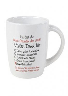 Tasse BESTE FREUNDIN DER WELT -