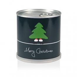 Weihnachtsbaum in der Dose - Merry Christmas Grün -