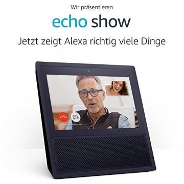 Wir stellen vor: Echo Show - schwarz -